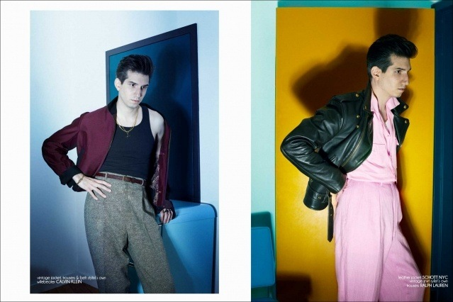 New York City barber/musician Keith Cayea for Ponyboy, photographed by Alexander Thompson - spread #7.