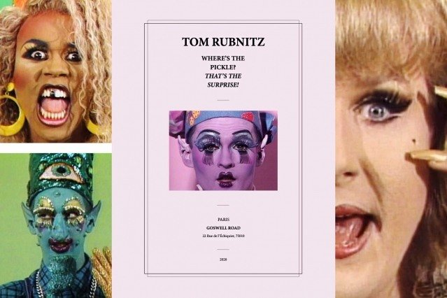 Tom Rubnitz - Where's the pickle? That's the surprise! Book from Goswell Road.