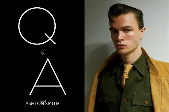 Model Ashton Smith from State Management for Ponyboy magazine, photographed & styled by Alexander Thompson.