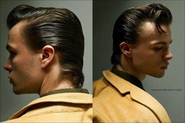 Model Ashton Smith from State Management for Ponyboy magazine, photographed & styled by Alexander Thompson. Spread #2.