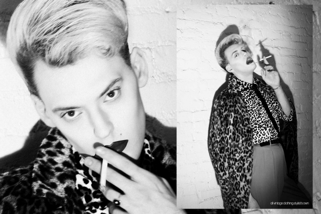 Actor/singer Jack James Busa from UNI, with photography & styling by Alexander Thompson for Ponyboy. Spread 5.