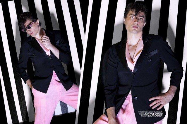DRÄGER - musician/model Spencer Draeger for Ponyboy. Photographer/menswear stylist Alexander Thompson. Spread 9.