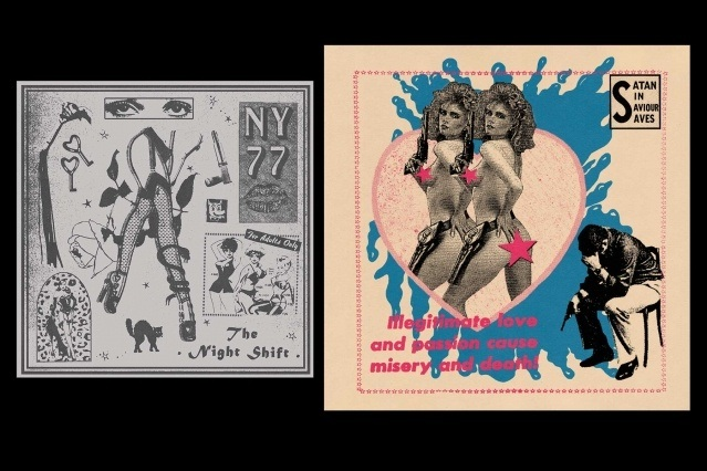 Future Shock artwork by Art Aguilar. Ponyboy magazine. Spread 10.
