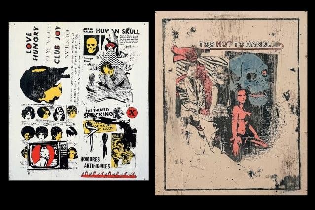 Future Shock artwork by Art Aguilar. Ponyboy magazine. Spread 11.