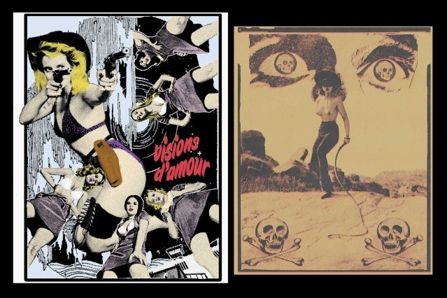 Future Shock artwork by Art Aguilar. Ponyboy magazine. Spread 6.