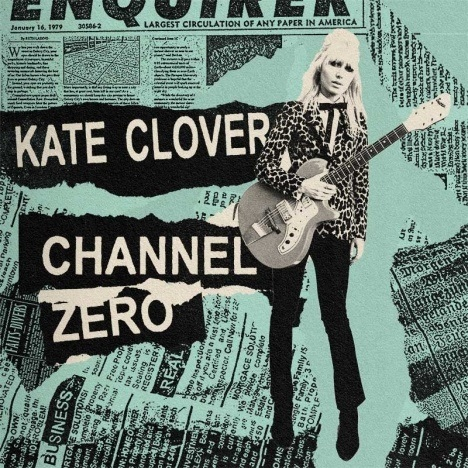 """Kate Clover """"Channel Zero"""" EP cover."""