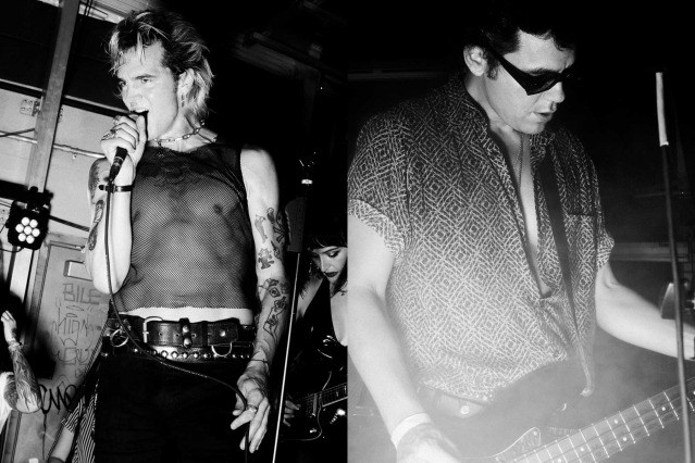 Chuck Bones and Tito Chevarria from the Trash Bags photographed in New York City by Alexander Thompson for Ponyboy.