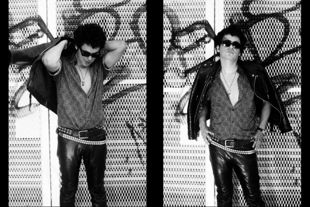 Bassist Tito Chevarria of the Trash Bags photographed in New York City by Alexander Thompson for Ponyboy. Spread #2.