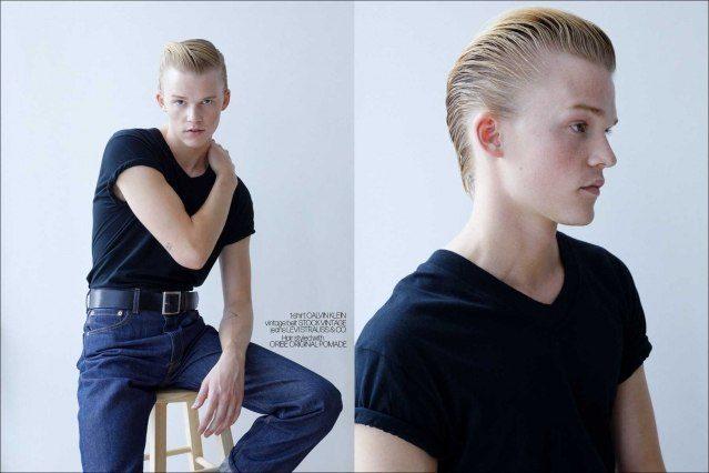 Crawford model Hunter Nance photographed for Ponyboy by Alexander Thompson.