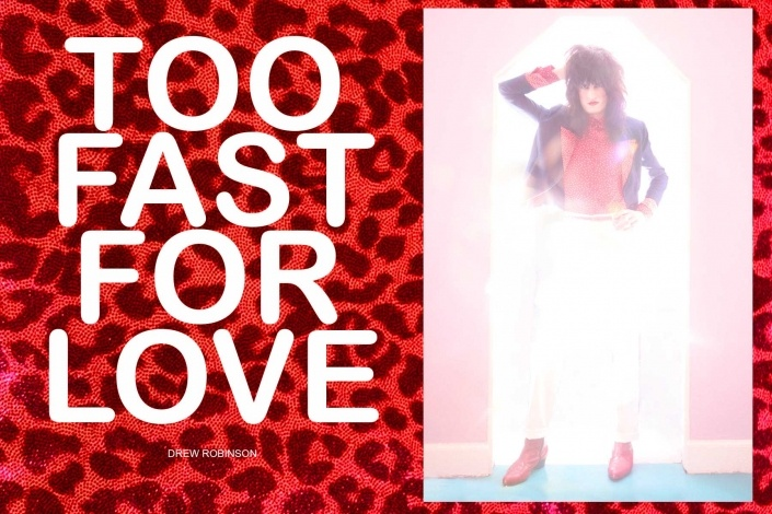"""""""Too Fast For Love"""" - editorial for Ponyboy with New York City musician Drew Robinson."""